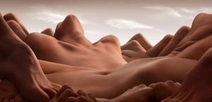 paysage corps femme