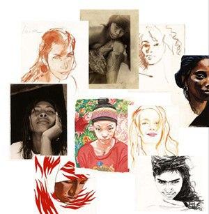 Femmes du Monde, par Titouan Lamazou
